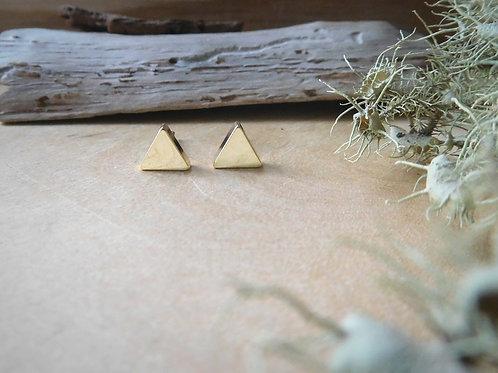 Small Gold Arrow Stud Earrings