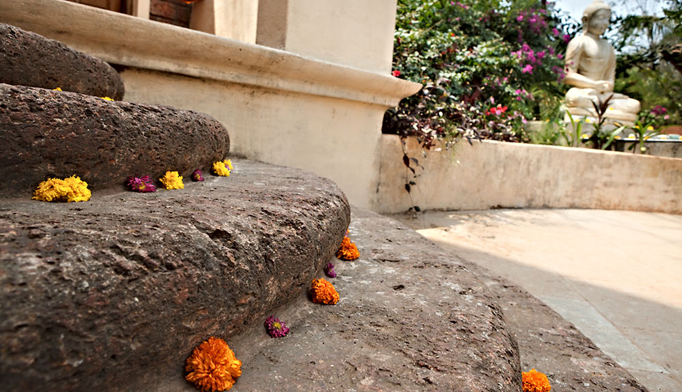 Steps to the Shiva Shala