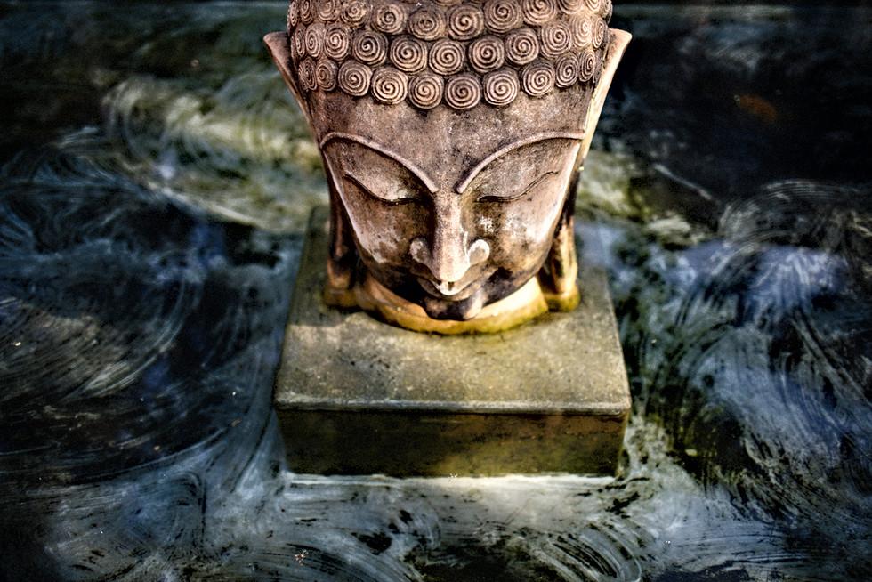 Buddha pool