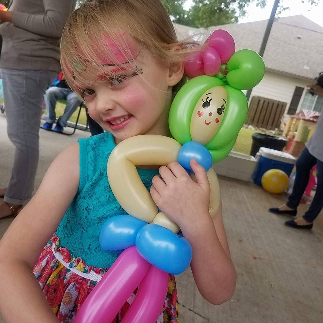 Face Paint & Balloon Twisting