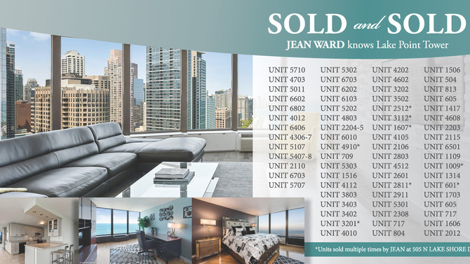 Jean Ward Knows Lake Point Tower Real Estate | Chicago | Streeterville
