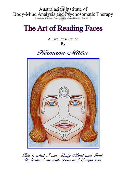 The Art of Reading Faces - DVD and manual