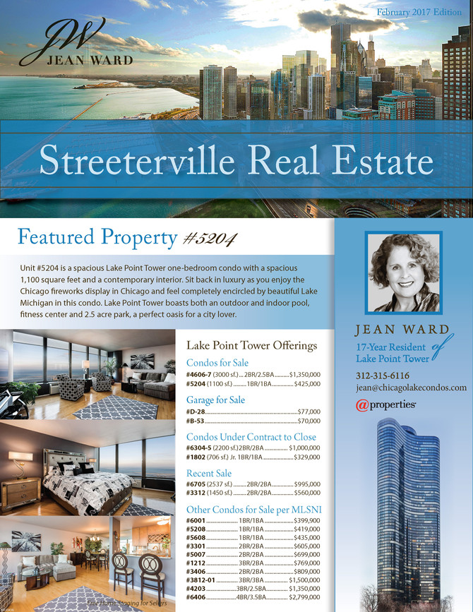 February 2017 Issue of Streeterville Real Estate