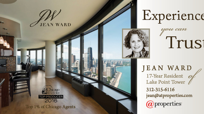 Jean Ward Awarded Chicago Realtors Top Producer Award for 2016