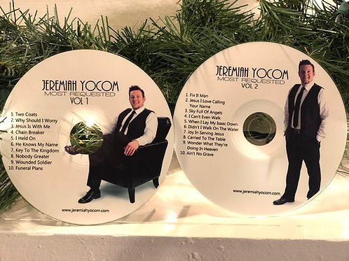 SET OF TWO JEREMIAH YOCOM MOST REQUESTED VOL 1 & 2