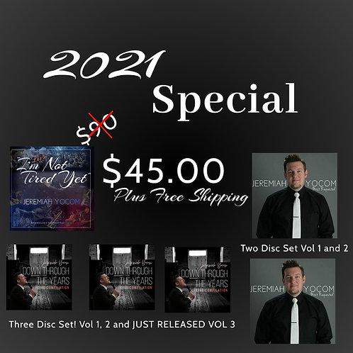 All 3 JY Albums (Special Deal) - FREE SHIPPING