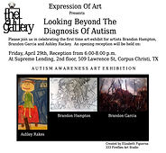 Expressions of Art Invite