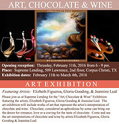 Art, Chocolate & Wine Exhibit