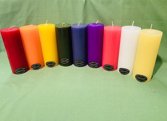 Pillar candles (unscented)