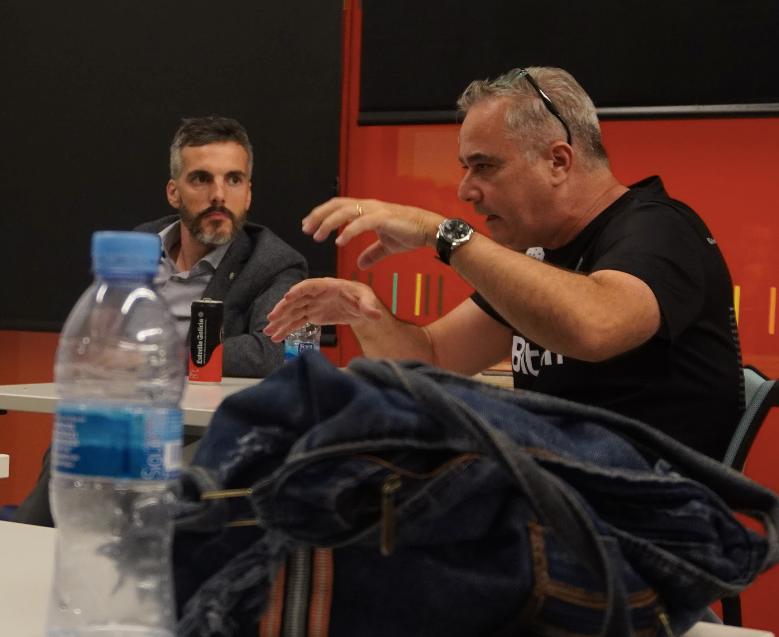 Steve Serra y Ramón Quesada
