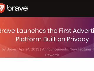 El navegador Brave ya recompensa a sus usuarios por ver la publicidad que muestran los periódicos