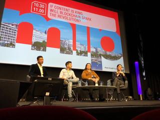 Empresas de entretenimiento Blockchain presentan en el MIP TV de Cannes aplicaciones para monetizar