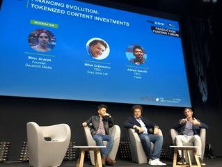 Llueve en Cannes....noticias sobre blockchain, una crónica de Adrián Garelik, CEO de Flixxo, la plat