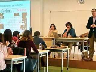 """Los alumnos de la Universidad de Castilla-La Mancha acogen con gran interés el taller sobre """"Periodi"""