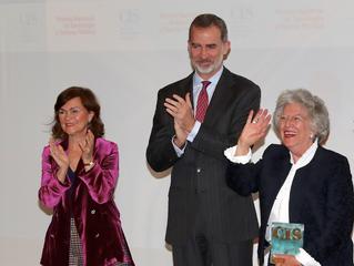 María Ángeles Durán agradece a su padre que la empujara al privilegio de estudiar e investigar al re
