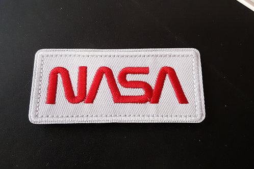Ecusson à scratch NASA rectangulaire