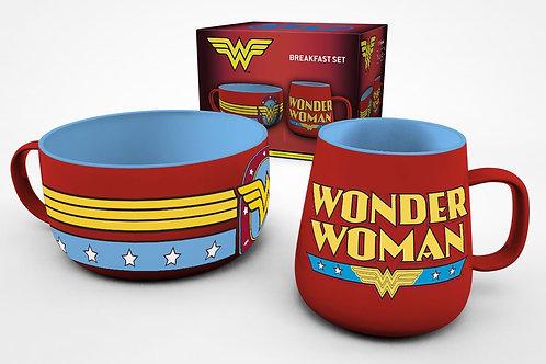 DC Comics set petit-déjeuner Wonder Woman