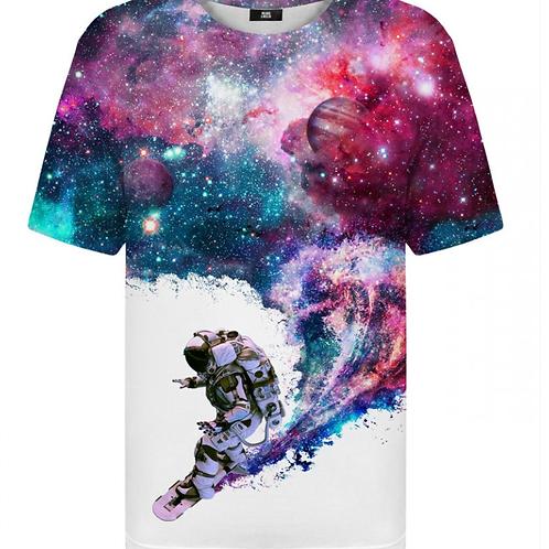 T-shirt Surfeur cosmonaute