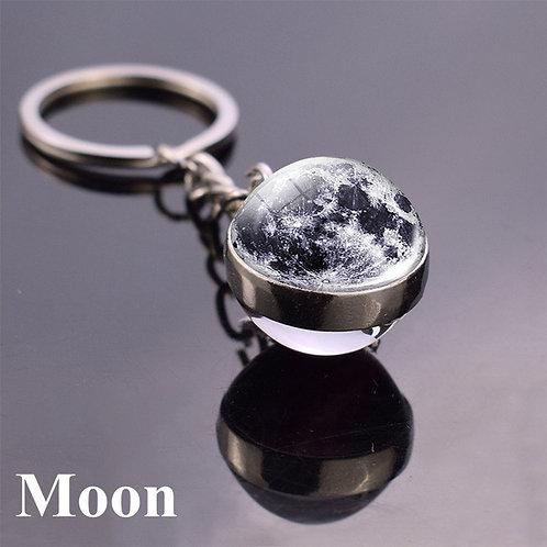 Porte clés Boule Lune