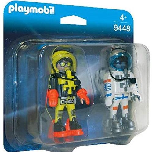 Duo d'astronautes