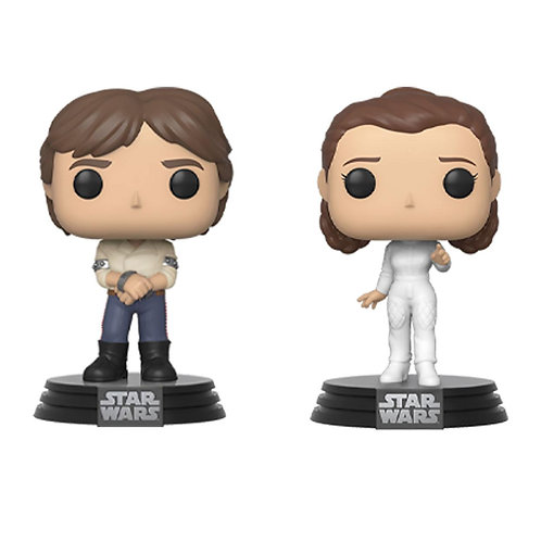 POP! Han & Leia anniversaire 40 ans