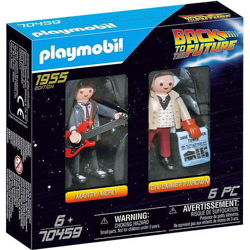 Playmobil Retour vers le futur deux chiffres