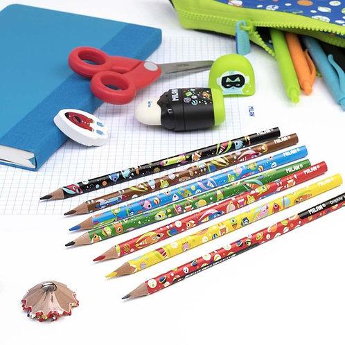 Lot de 6 crayons de couleur