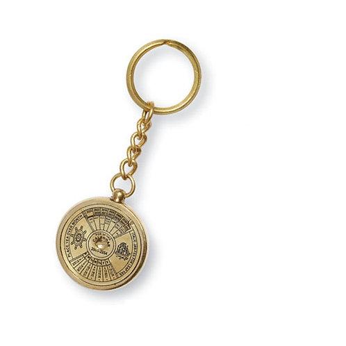 Porte clé calendrier universel