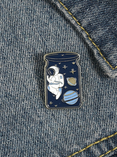 Pins Bocal Astronaute