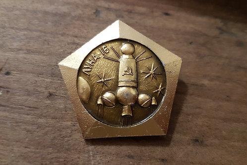 Pins Doré Spatial Soviétique #10