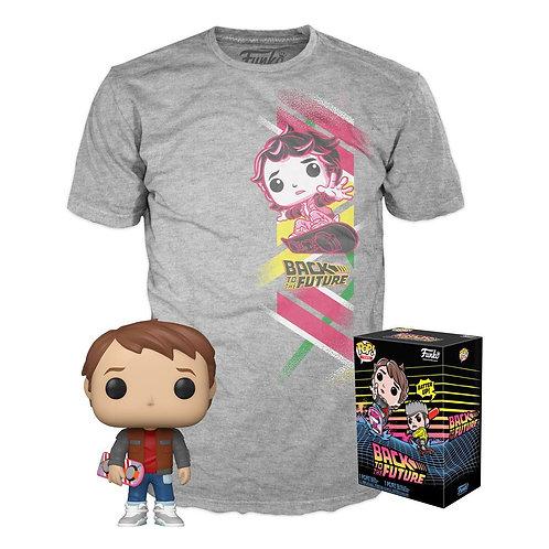 Retour vers le Futur Pop + T-shirt