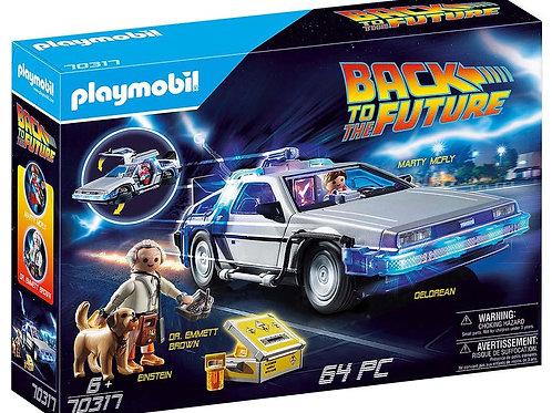 Playmobil Retour vers le futur deloréen