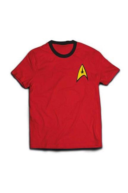 Star Trek T-Shirt Ringer Engineer Uniform