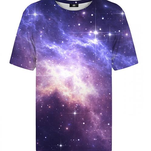 T-shirt Nébuleux bleu