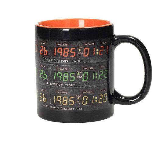 Retour vers le Futur Mug Control Panel