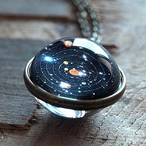 Collier système solaire