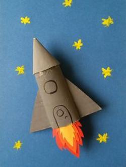 Bricolage fusée