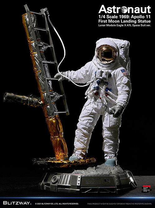 Astronaute Apollo 11 Statut 73 cm