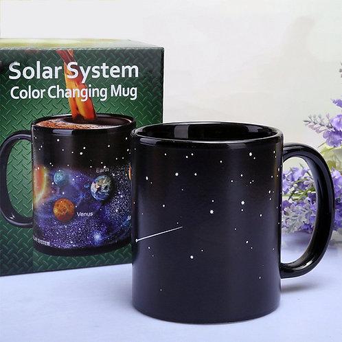 Tasse magique du système solaire