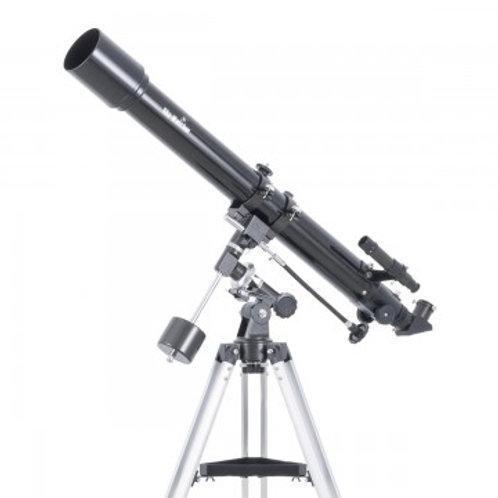 Lunette astronomique 70/900 sur EQ1