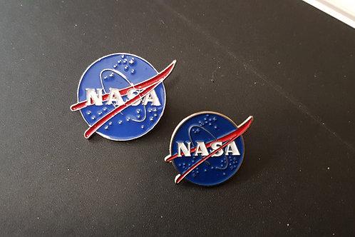 PINS LOGO NASA ROND