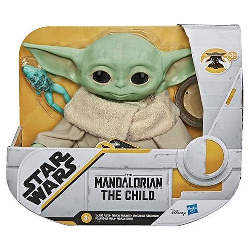 Peluche Electronique Star Wars The Mandalorian The Child bébé Yoda 20 cm