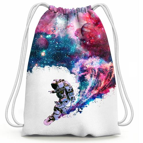 Petit sac Surfeur cosmonaute