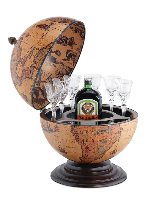 "Globe bar de table ""Alféo"""