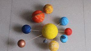 atelier système solaire
