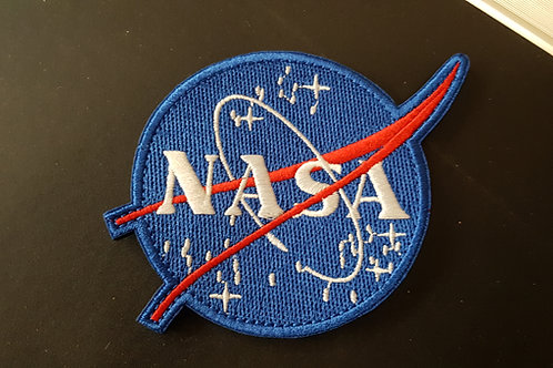 Ecusson à scratch NASA rond
