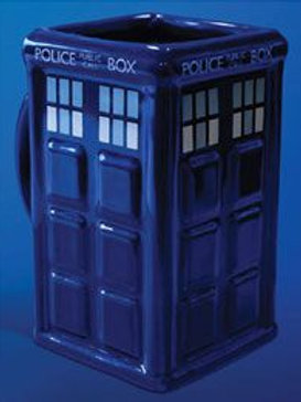 Tasse 3D Doctor Who