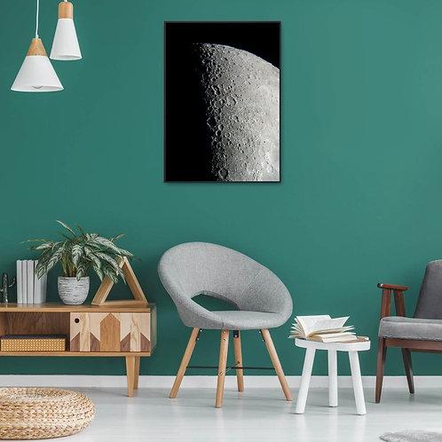 Poster Lune 30X40cm