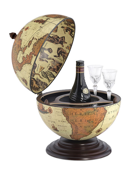 "Globe bar de table ""Alféo Safari"""