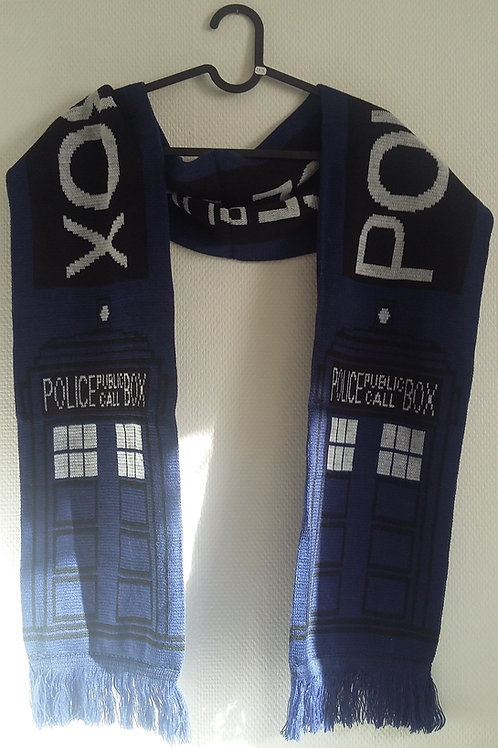 Echarpe Docteur Who!